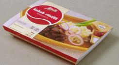 Pakkemaskiner for pakking av matvarer i forbrukerforpakning. bilde